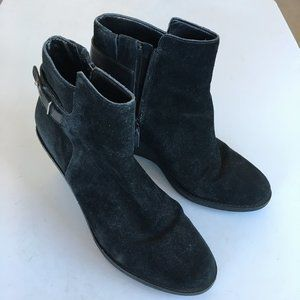 Cole Haan Michelle Ankle Boot Waterproof Suede